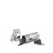 01-Standard - Earproof - Cannister - L - Platina 15 db
